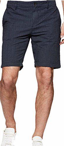 PAIGE Men's Short Thompson Short Navy Pindot (36)