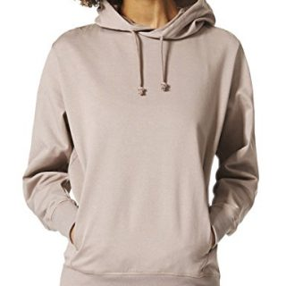 adidas Originals Women's Xbyo Hoodie in Grey in Size 40-M