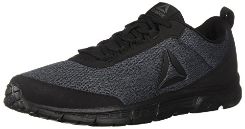 Reebok Men's Speedlux 3.0 Sneaker, Black/Ash Grey/Black, 15 M US