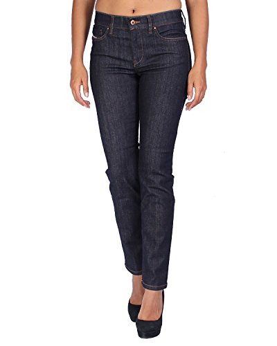 Diesel Women's Jeans STRAITZEE-R - Regular Slim Straight - Blue (Navy), W27/L32