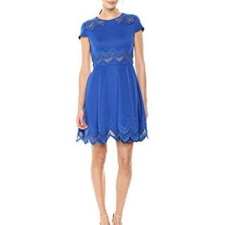 Ted Baker Women's Rehanna Dress, Mid Blue, 1