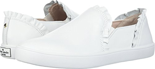 Kate Spade New York Women's Lilly Sneaker, White, 8 M US