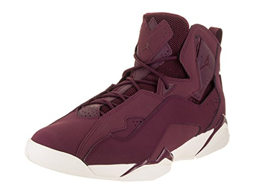 Jordan Men's True Flight Basketball Shoe, Bordeaux/Bordeaux-Sail 11