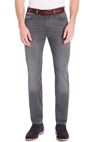 Hugo Boss Men's 'Delaware3-1' Slim Fit Dark Grey Stretch Denim Jeans 33x34