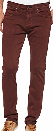 PAIGE Men's Jean Federal Vintage Persimmon Slim Jeans (32)