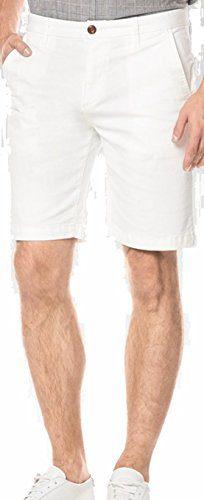 PAIGE Men's Short Thompson Short Classic White (34)
