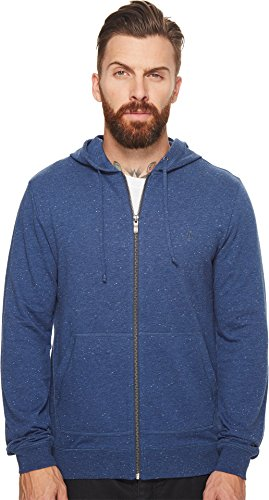 Original Penguin Men's NEP Hoodie, Vintage Indigo, Medium