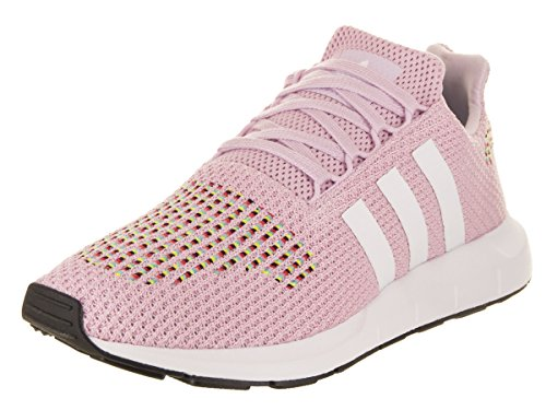 adidas Originals Women's Swift W Running-Shoes,aero Pink/White/core Black,10 M US
