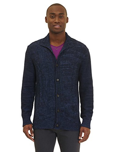 Robert Graham Shuttle Sweater Jacket Navy XLarge