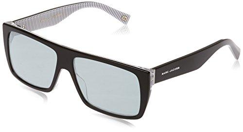 Marc Jacobs Rectangular Sunglasses, Str Blck, 57 mm