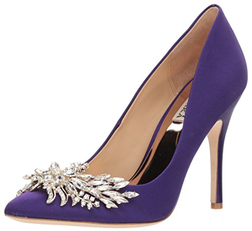 Badgley Mischka Women's Marcela Pump, Violet, 7.5 M US