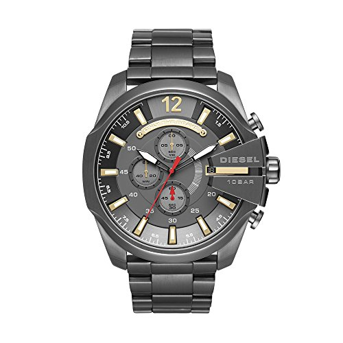 Diesel Men's Mega Chief Gunmetal Watch