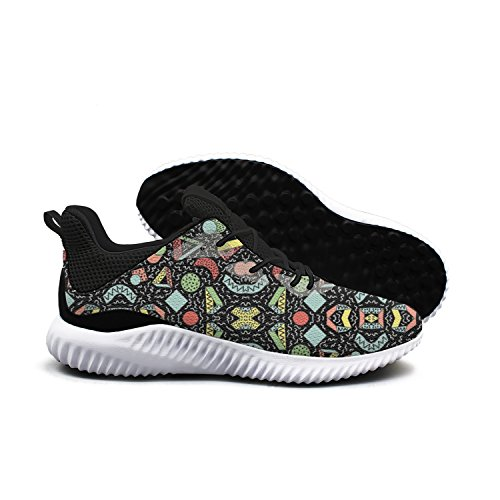 Various Shapes Of Color Graphics Men Shoes Running Shoe Walking Shoes