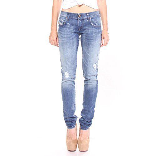 Diesel Grupee Super Slim-Skinny Low Waist Jeans 28/32 Women