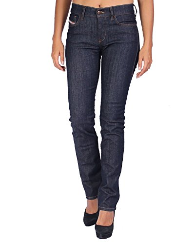 Diesel Women's Jeans STRAITZEE - Regular Slim Straight - Blue (Navy), W27/L30