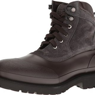 Salvatore Ferragamo Men's Forest Rain Boot T.Moro Shoe