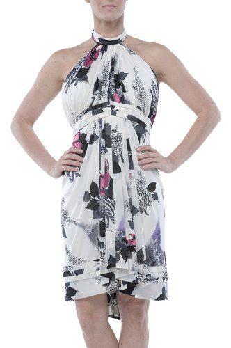 Roberto Cavalli - Flare Dress Multicolor, 42, Multicolor