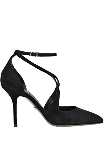 Dolce e Gabbana Women's Black Suede Pumps