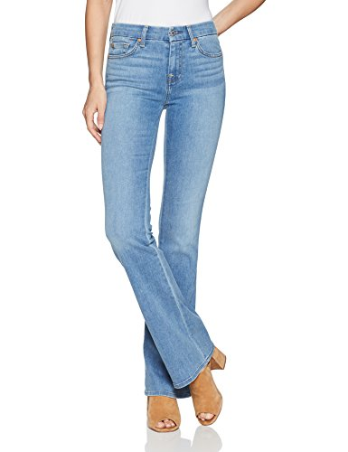 7 For All Mankind Women's a Pocket Jean, Bright Palms, 30
