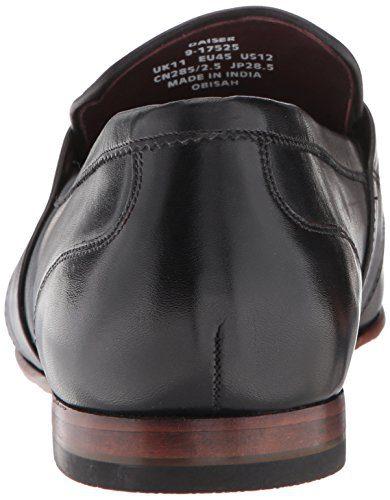 Ted Baker Men's Daiser Loafer, Black Leather, 7.5 M US