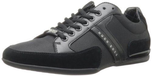 Hugo Boss Men's Spacit Fashion Sneaker,Black,9 M US