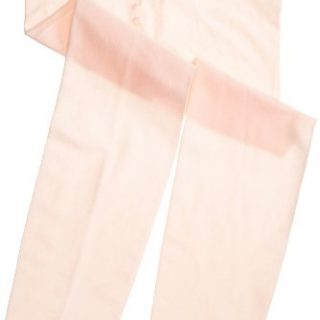 Capezio Little Girls' Ultra Shimmery Footed Tight,Ballet Pink,M/S (6-8)