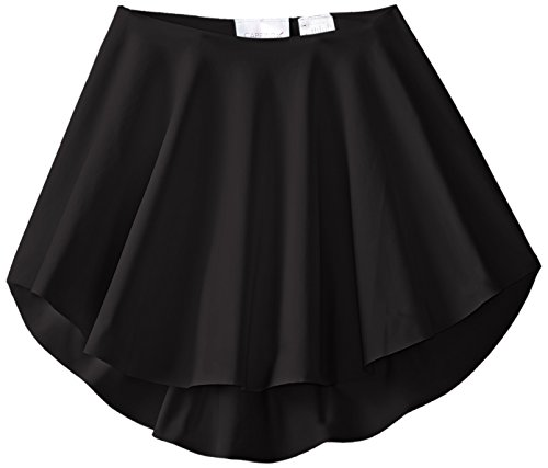 Capezio Little Girls' Diamond Lattice Circle Skirt, Black, Intermediate