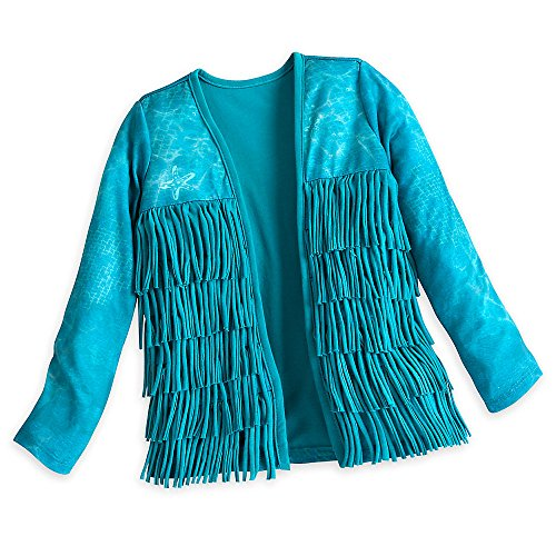 Disney Uma Cardigan for Girls - Descendants 2 Size 7/8 Blue
