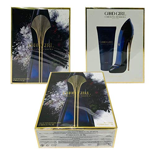 Carolina Herrera Good Girl For Women Gift Set (Eau De Parfum Spray 2.7 oz.+ Body/Lotion 3.4.oz)