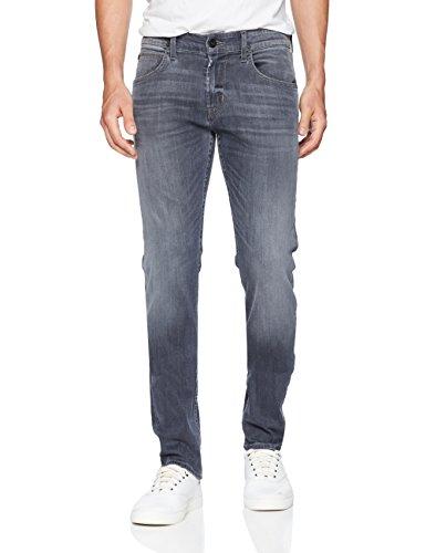 Hudson Jeans Men's Blake Slim Straight Zip Fly Jeans, Silver Lake, 36
