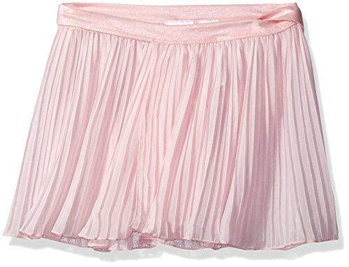 Capezio Big Girls (7-16) Pleated Wrap Skirt, Ballet Pink, Large (10-12)