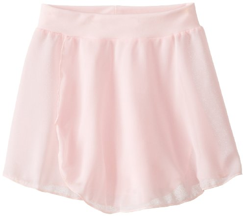 Capezio Little Girls' Tactel Collection Pull-On Skirt, Pink, Toddler