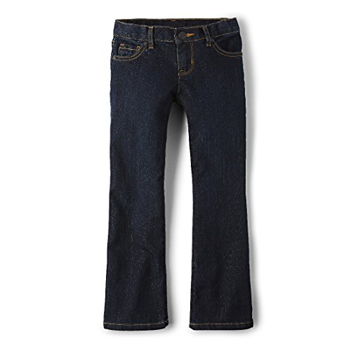 The Children's Place Big Girls' Bootcut Jean, Odyssey, 6X/7