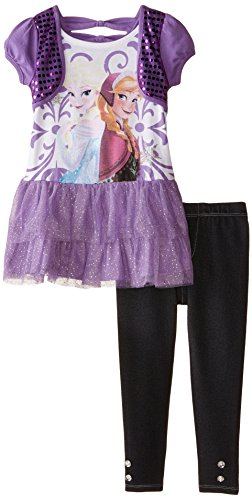 Frozen 2-Piece Legging Set, Purple,