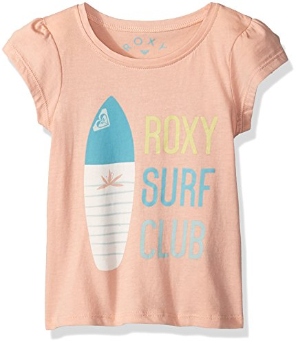 Roxy Toddler Girls' Moid T-Shirt, Tropical Peach, 3