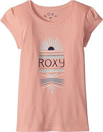 Roxy Little Girls' Moid Short Sleeve T-Shirt, Peaches N Cream, 6