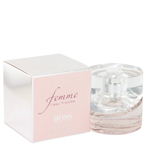 Hǔgo Bȯss Fȅmme L'eaǔ Fraȉche Perfumé For Women 1 oz Eau De Toilette Spray + a FREE Body Lotion For Women