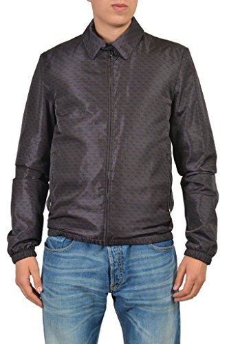 Gucci Men's Multicolor Full Zip Jacket US L IT 52;