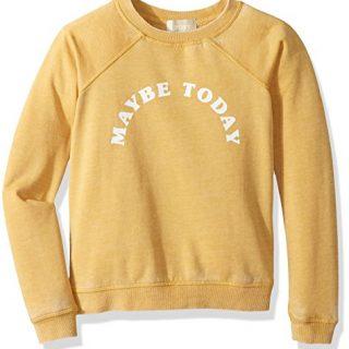 Roxy Big Girls' Fingers Crossed Pullover Sweatshirt