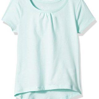 The Children's Place Big Girls' Short Sleeve Top, Green Bay, XXL(16)