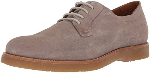 Hugo Boss BOSS Orange by Men's Cuba Derby Casual Suede Construction Shoe, Pastel Grey, 9 M US