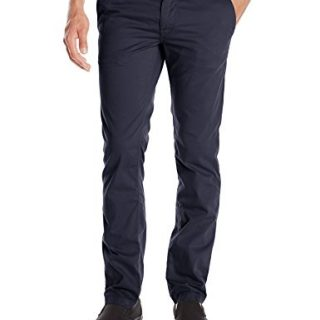 BOSS Orange Men's Schino-Slim1-D Slim Fit Cotton Stretch Chino Trouser, Dark Blue, 31x32