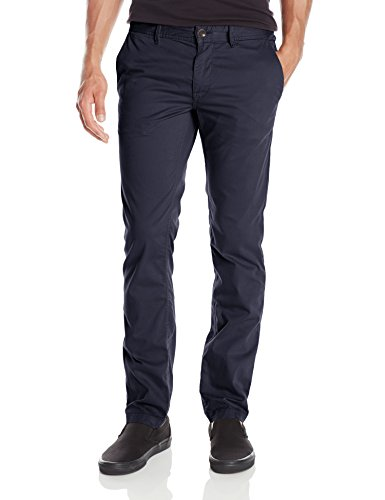 BOSS Orange Men's Schino-Slim1-D Slim Fit Cotton Stretch Chino Trouser, Dark Blue, 31x32