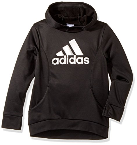 adidas Big Girls' Performance Hoodie, Black, XL