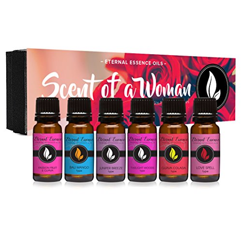 Scent Of A Woman Gift Set of 6 Premium Fragrance Oils