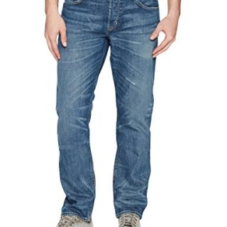Hudson Jeans Men's Blake Slim Straight Jeans, Scribe, 32