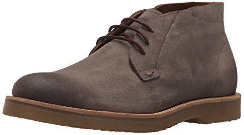 Hugo Boss BOSS Orange by Men's Cuba Desert Casual Chukka Boot, Medium Grey, 10 Regular US