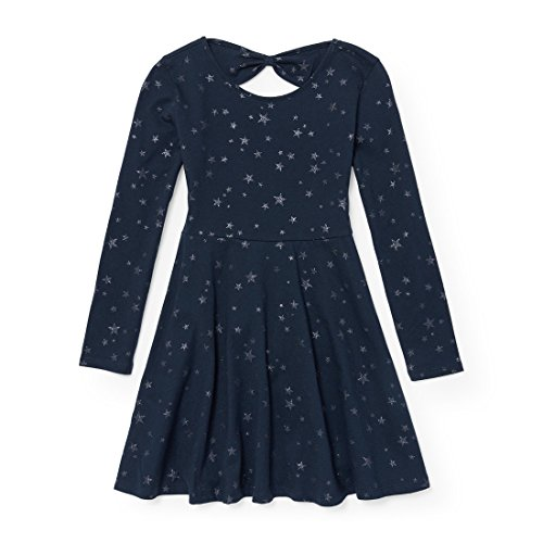The Children's Place Big Girls' Knit Bow Back Dress