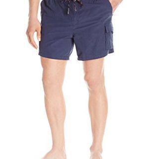 Hugo Boss BOSS Men's Bullshark Hybrid Swim Short with Removable Liner, Navy, Medium