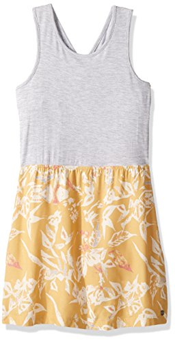 Roxy Big Girls' Inspire Life Tank Dress, Fall Leaf Pendulum, 8/S